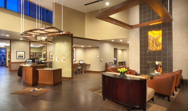 Hyatt Place Lobby. Photo for illustrative purposes.
