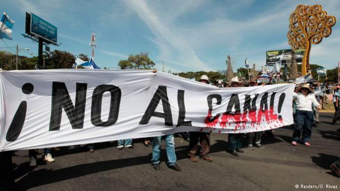 Clashes in Nicaragua Canal Construction