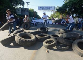 NICARAGUA-CHINA-CANAL-PROTEST