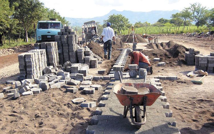 Construccion Carretea Libertad Chontales