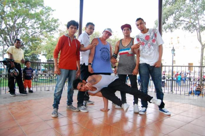 Leon, Nicaragua b-boy crew, Styleboy, has won two Nica Killed the Beat competitions in the past decade and they show no signs of slowing down during every night's practice at the central park's gazebo. Rebecca Blandon/GlobalPost