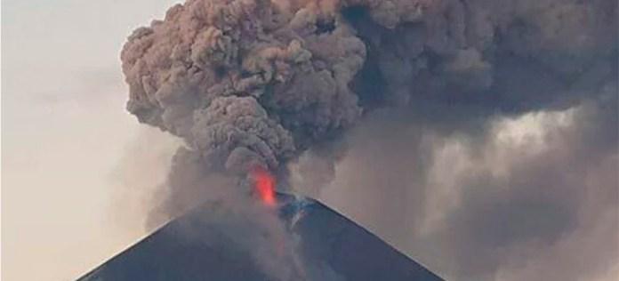 Momotombo eruption Dec 2015
