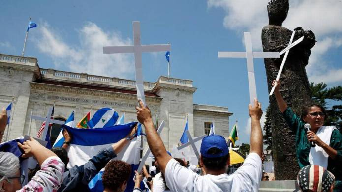 Why are U.S., Latin America tough on Venezuela but soft on Nicaragua? They're both dictatorships!