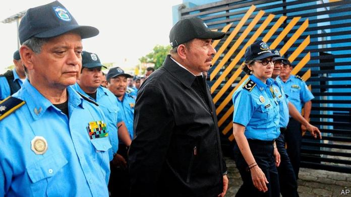 The Economist Sees Ortega Clinging to Power