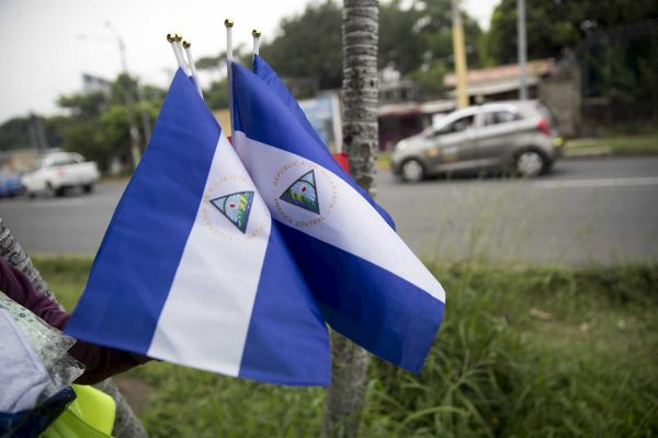 In Nicaragua, Flying the National Flag Is a Crime