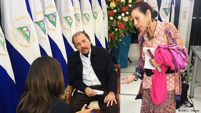 Daniel Ortega blames Nicaragua crisis on US-backed 'coup' in interview with DW