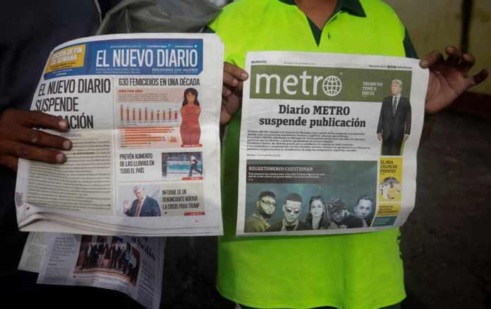 El Nuevo Diario Suspended Publication On Friday