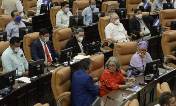 Ortega legislators approve reforms to protect the bank accounts of sanctioned officials