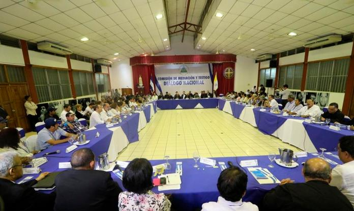 Bishops Will Not Withdraw From The Nationl Dialogue in Nicaragua