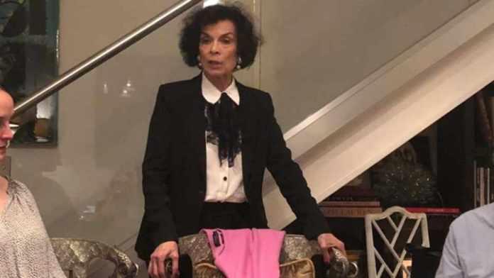 Bianca Jagger visits DC to spotlight 'brutal assault' on 'people of Nicaragua'