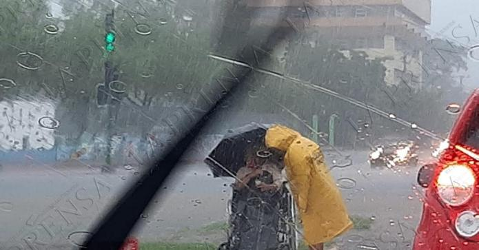 Streets of Managua flooded due to effects of Iota