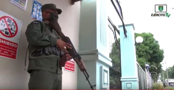 Nicaraguan Army takes measures to face the Covid-19 pandemic