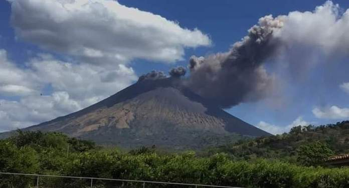 Clean Up Underway After Nicaragua's Tallest Volcano Erupts