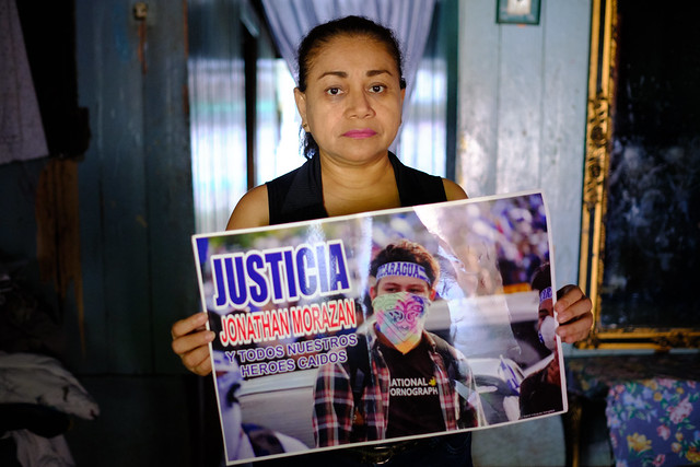 Nicaraguan Mother who Lost Her Son to Ortega's Forces Tells UN Not Leave These Crimes In Impunity