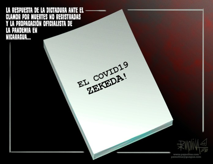 """""""El Covid-19 ZEKEDA"""" The dictator's reposnde to the unknown deaths"""