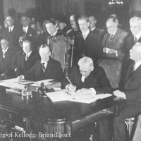 August 27, 1928 - Kellogg-Briand Pact Attempts to Ban War