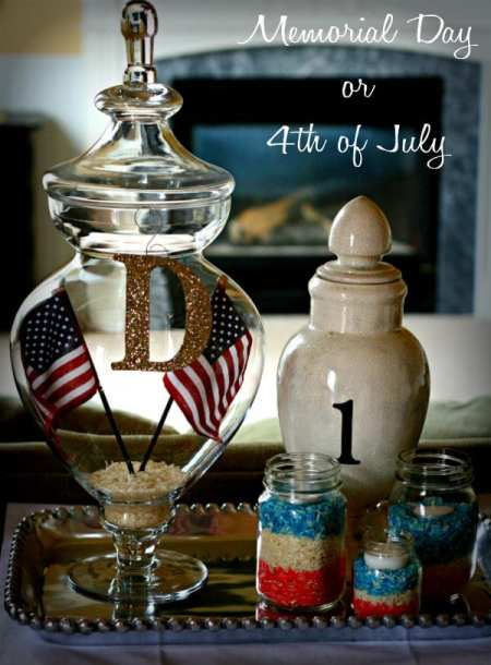memorial day decorating