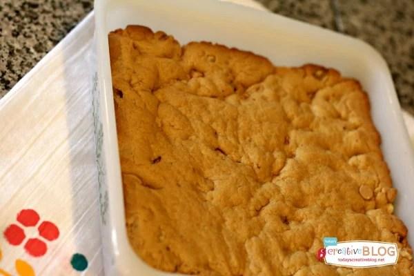 Cake Mix Peanut Butter Brownies  TodaysCreativeBlog.net