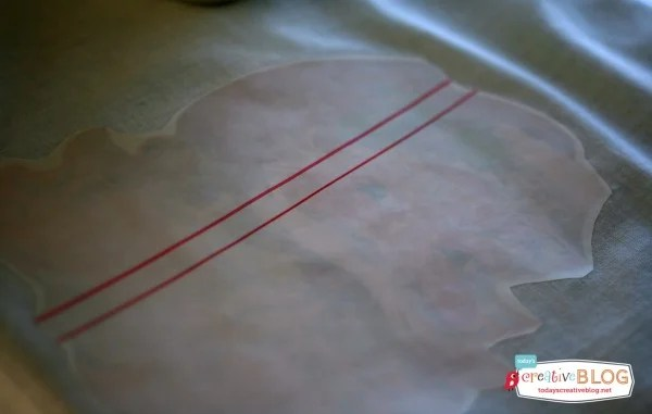 Iron On Transfer Santa Pillow | TodaysCreativeBlog.net