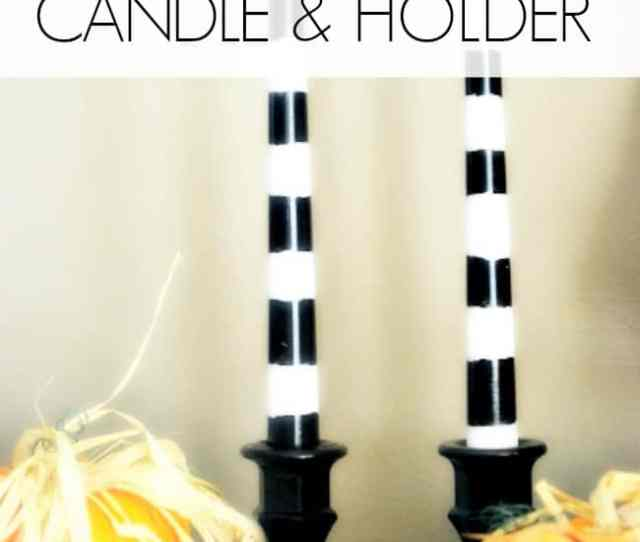 Decorate Your Home For The Holidays On A Budget This Halloween With These Halloween Candles And Holders Perfect For Your Spooky Buffet Table