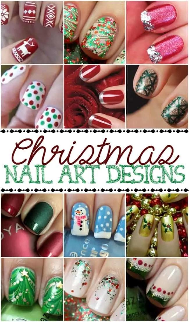 Christmas Nail Art Designs Today S Creative Ideas