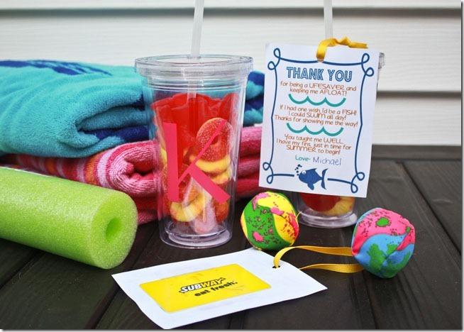 Swim Teacher Gift Idea Todays Creative Life