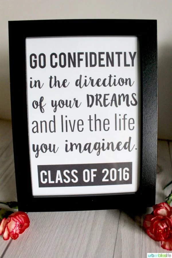 Graduation Quotes Free Printable   Today s Creative Life Graduation Quotes   Print these inspiring graduation quotes for any  graduation get together  Or print