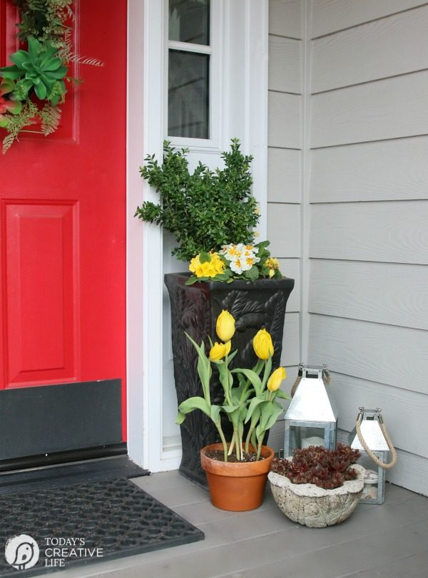 Front Porch Ideas Decorating Your For Spring Small Simple Diy