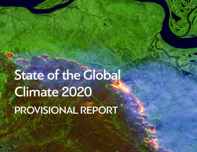 provisional Global Climate report 2020