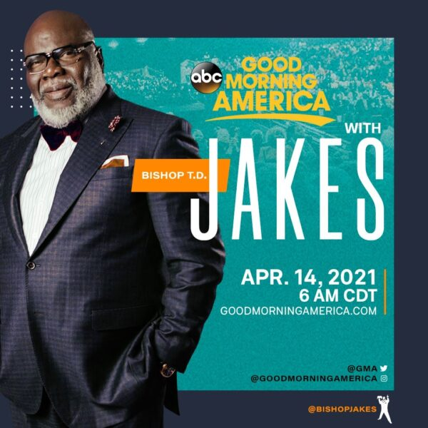 Td Jakes At Good Morning America