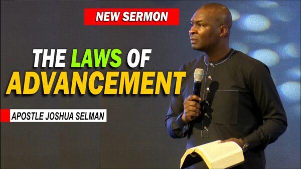 Apostle Joshua Selman Message On Destiny And Breakthrough Photo October 23, 2021