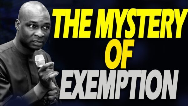 Listen To This Powerful Sermon On Divine Exemption Photo September 18, 2021
