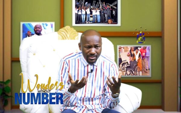 Apostle Johnson Suleman Bank Account Number