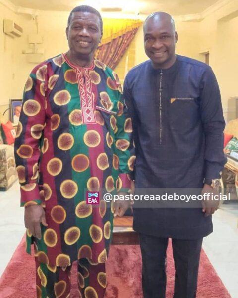 Apostle Joshua Selman Meets Pastor E.a Adeboye