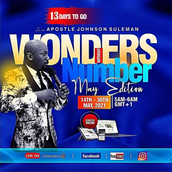 Wonders Without Number - Apostle Johnson Suleman