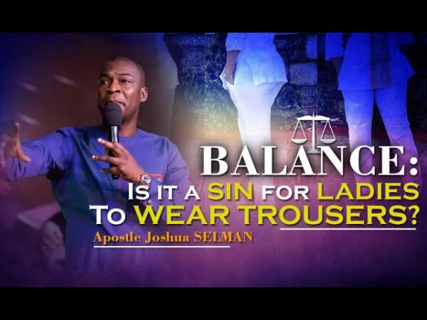 Sermon: Is It A Sin For Ladies To Wear Trouser? - (Full Explanation) Photo October 23, 2021