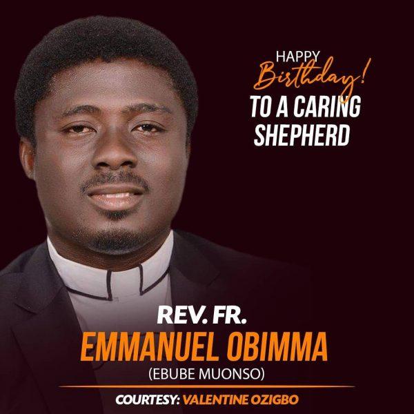 Rev Fr Emmanuel Obimma