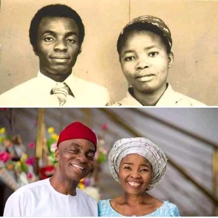 Throwback Pictures Of Bishop David Oyedepo And Wife