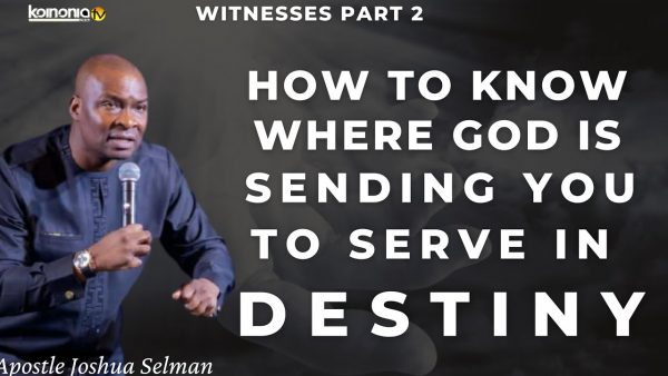 How To Know If God Is Calling You - (Check This Sermon 2021) Photo October 27, 2021