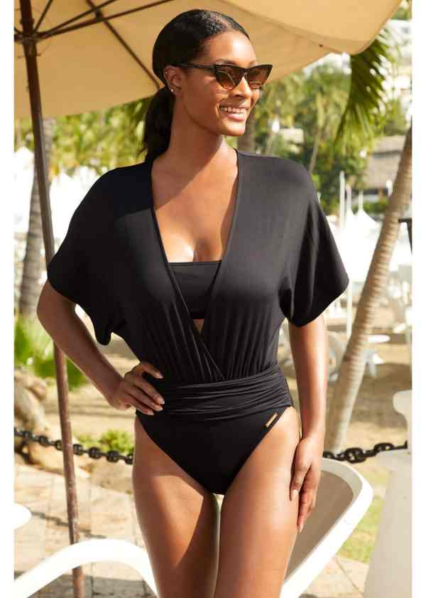 Vince Camuto Black One PIece Swimsuit