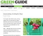 Avoid Products that Greenwash