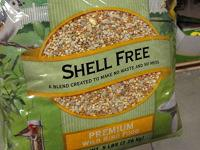 Shell free seed mix