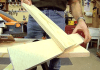 Homemade crosscut guide jig with circular saw