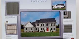 Dream Designer image of home with vinyl siding