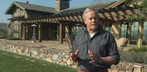 Danny Lipford at eco-friendly home in Del Sur, California.