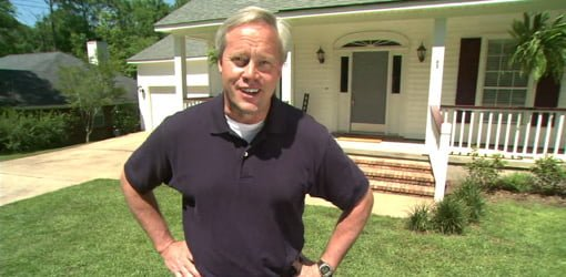 Danny Lipford standing in front of home.