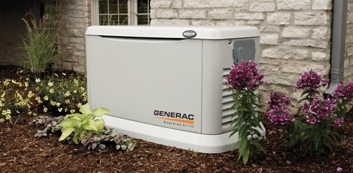 Whole house standby generator.