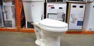 Delta Brevard toilet