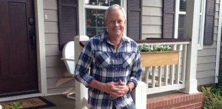 Danny Lipford on porch of home.