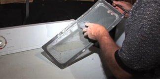 dryer vent screen